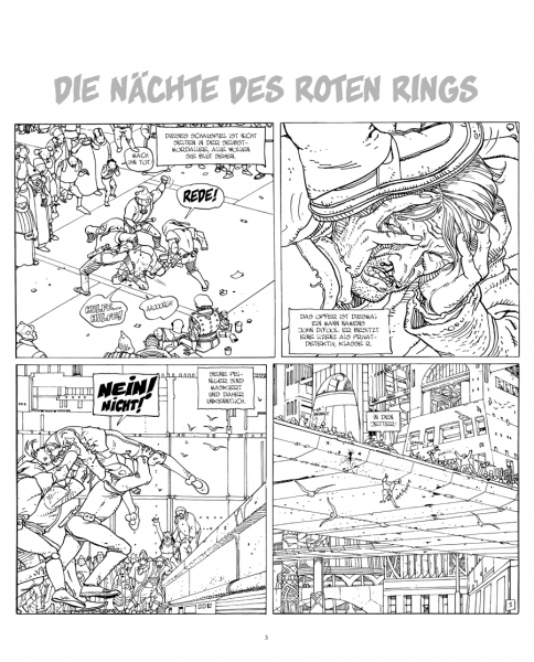 Der Incal 1: Der schwarze Incal – Splitter Diamant VZA