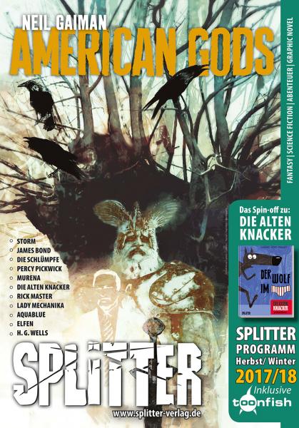 c72552c52d772d Splitter Verlag - Comics und Graphic Novels - Splitter Katalog ...