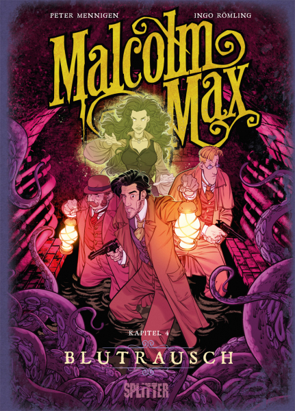 Malcolm Max Bd. 4: Blutrausch (eComic)
