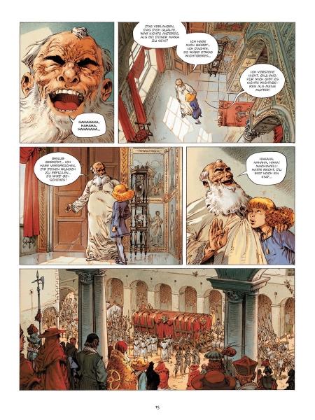 Der schreckliche Papst  ab Band  1 zur Auswahl  Splitter  Neu