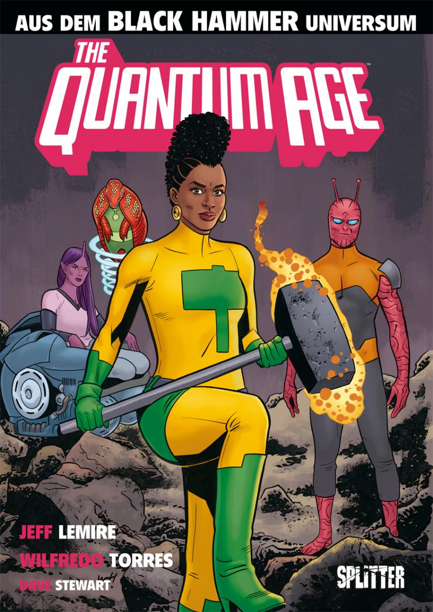 Black Hammer: Quantum Age