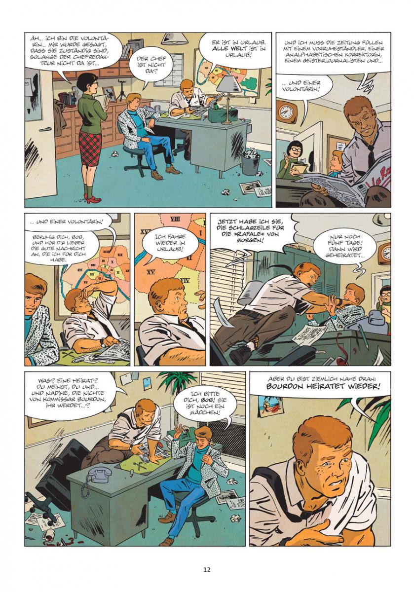 Splitter Verlag - Comics und Graphic Novels - Die neuen Fälle des ...