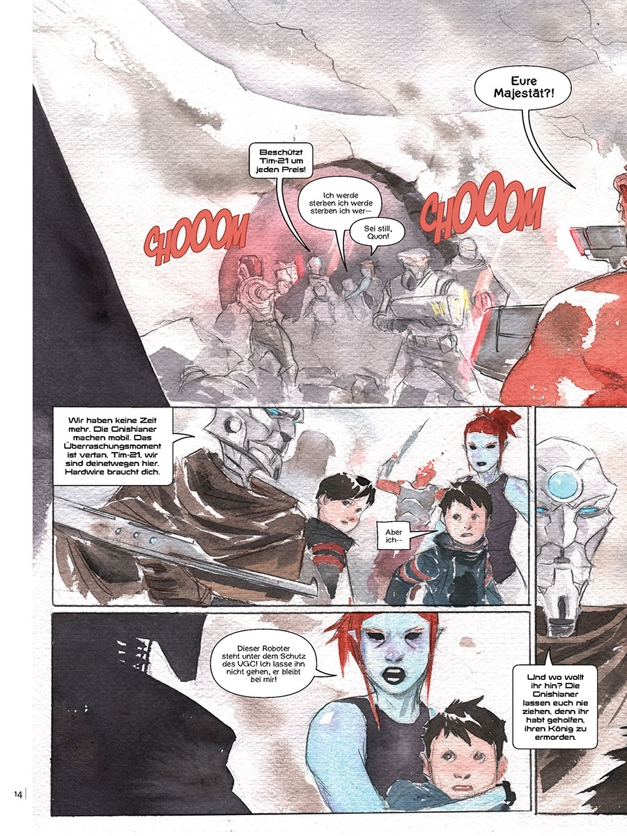 Descender Bd. 2: Maschinenmond