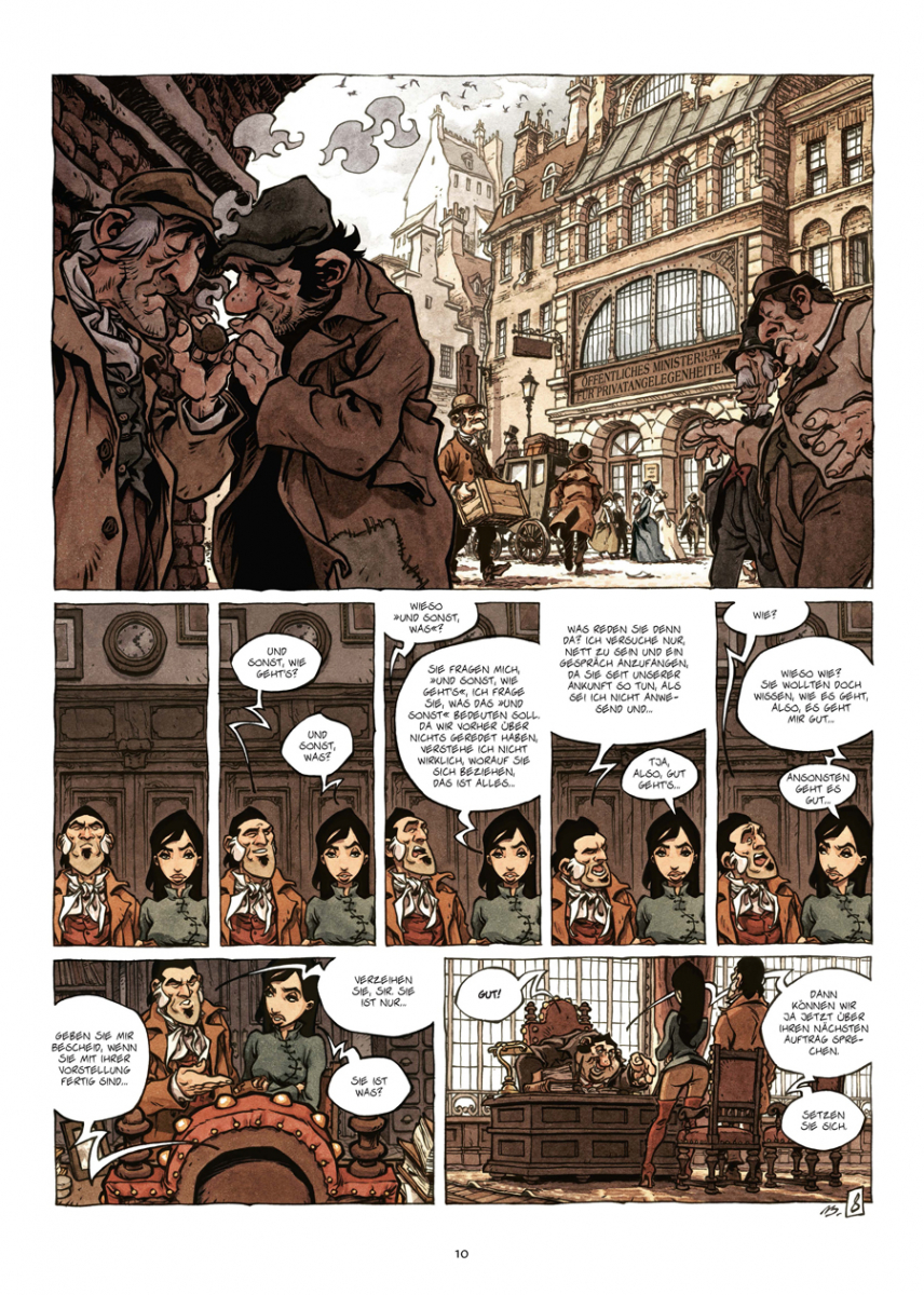 Splitter Verlag Comics Und Graphic Novels Das Konzil Der Baume