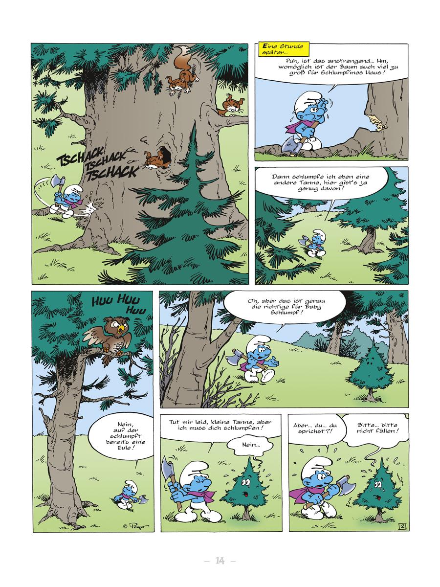 Splitter Verlag - Comics und Graphic Novels - Die Welt der Schlümpfe ...