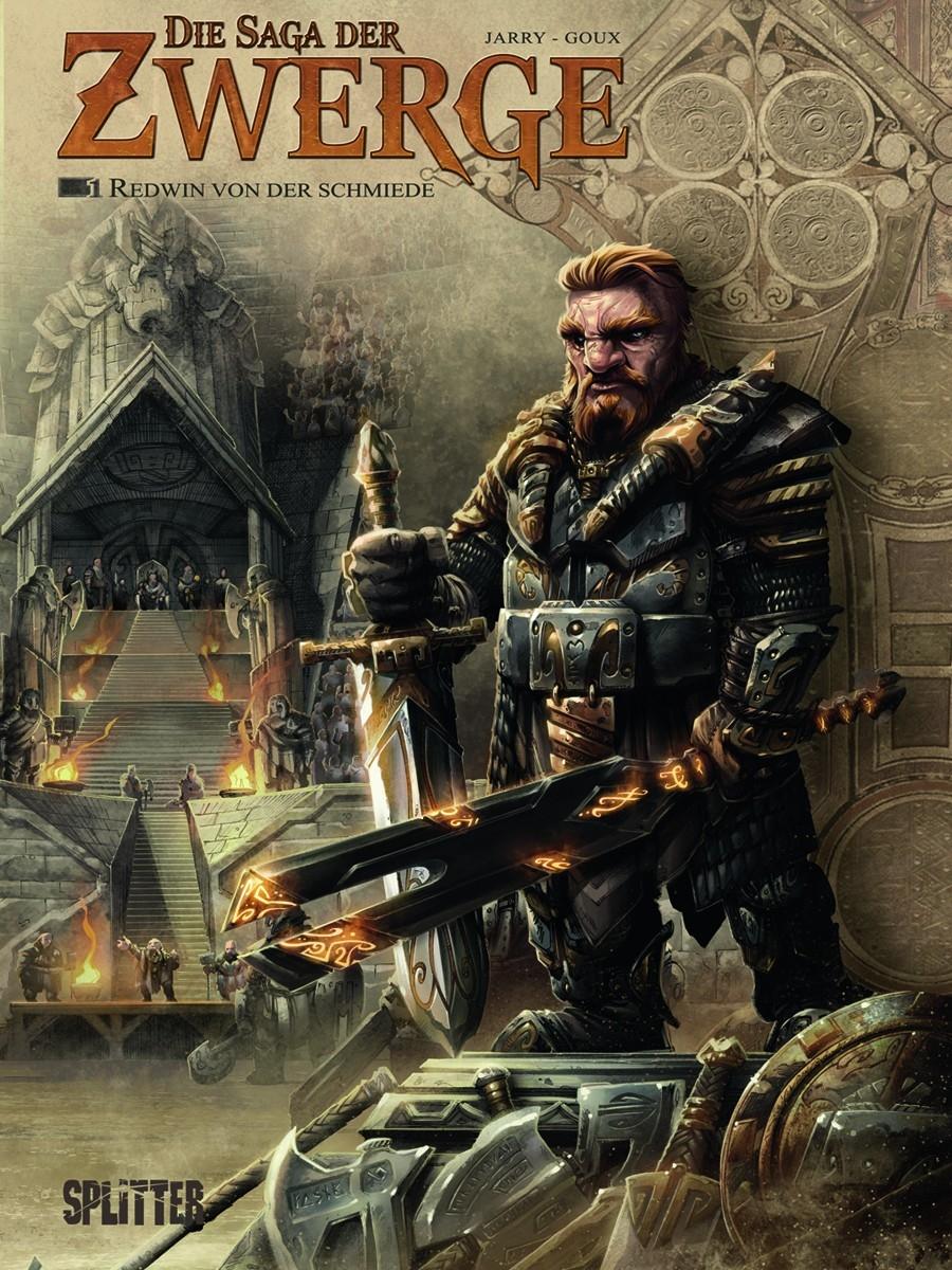 Die Saga der Zwerge Bd. 01: Redwin von der Schmiede